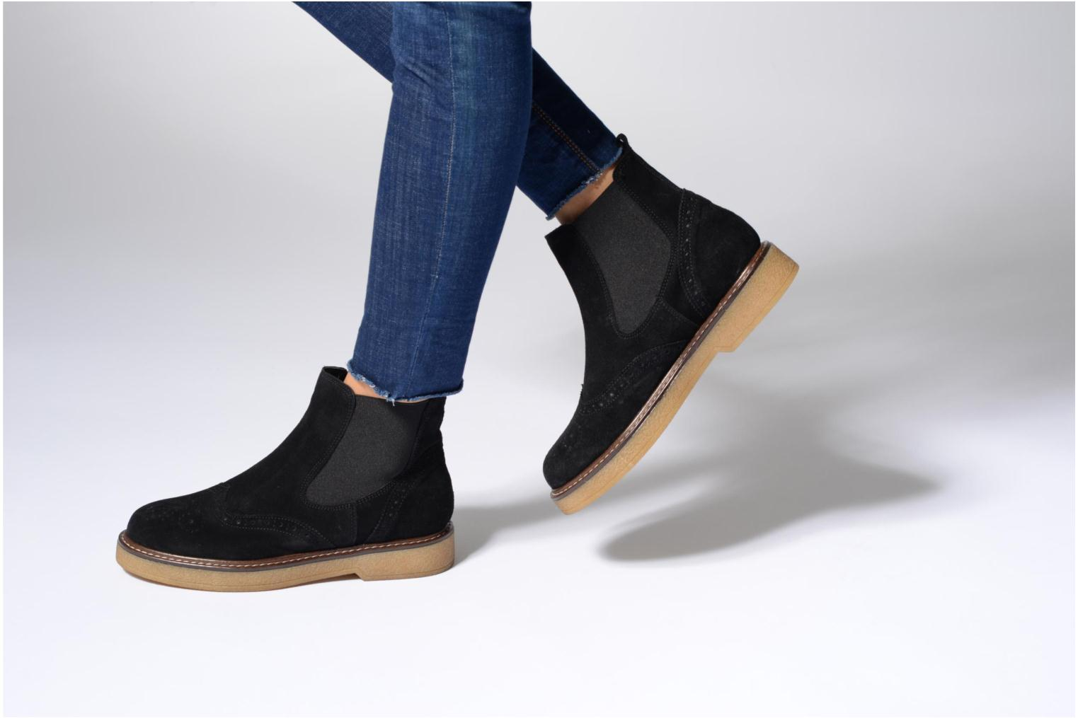 Ankle boots Esprit JONE TG BOOTIE Brown view from underneath / model view