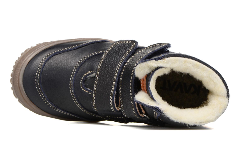 Bottines et boots Kavat Oden EP Bleu vue gauche