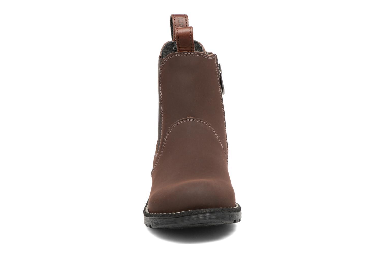 Bottines et boots Kavat Husum XC Marron vue portées chaussures