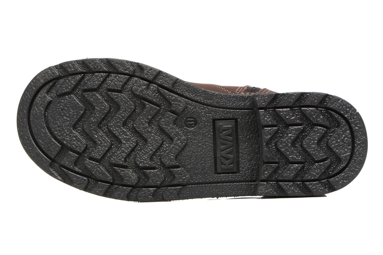 Bottines et boots Kavat Husum XC Marron vue haut