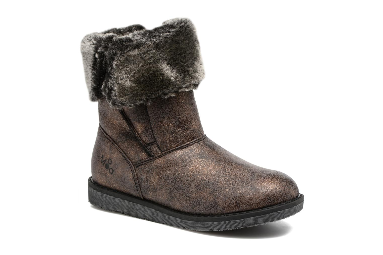 Bottines et boots Mod8 Altecia Marron vue détail/paire