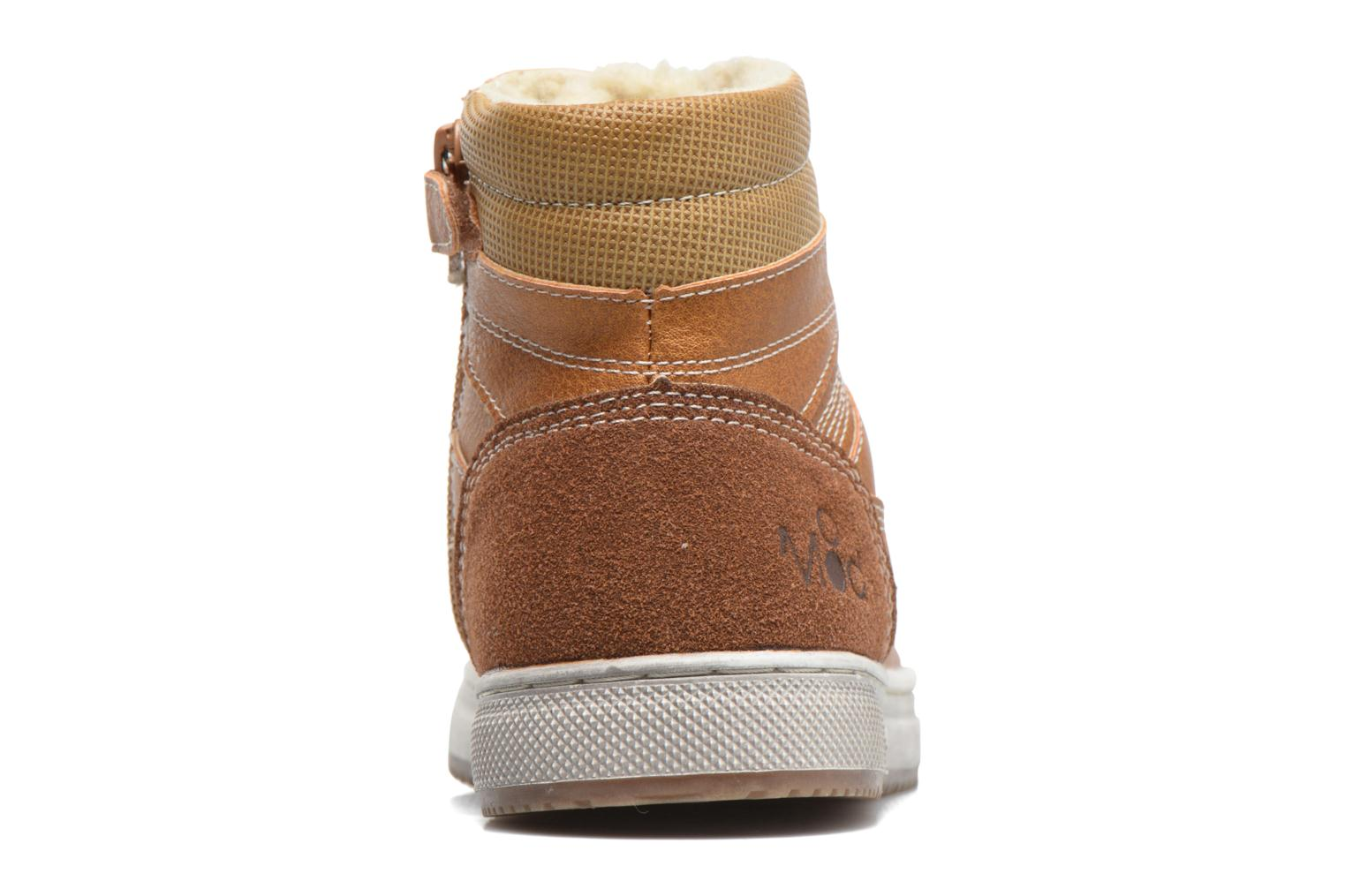 Trainers Mod8 Hyep Brown view from the right