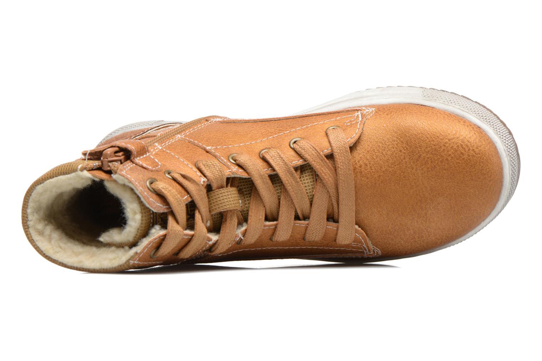 Sneaker Mod8 Hyep braun ansicht von links