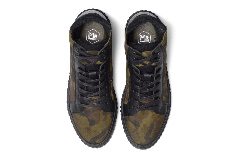Baskets Mr SARENZA Sessouflage Vert vue portées chaussures