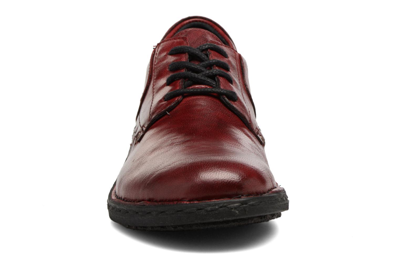 Chaussures à lacets Khrio Brancer Rouge vue portées chaussures