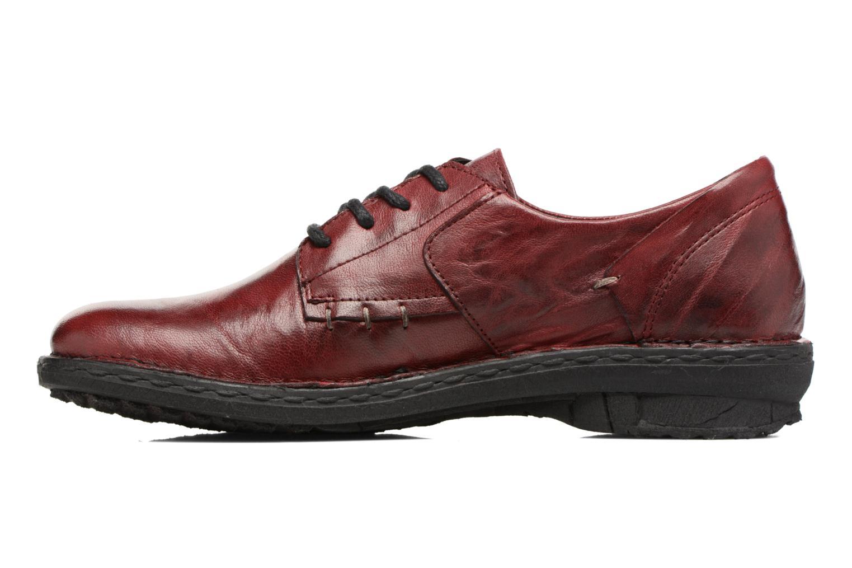 Chaussures à lacets Khrio Brancer Rouge vue face