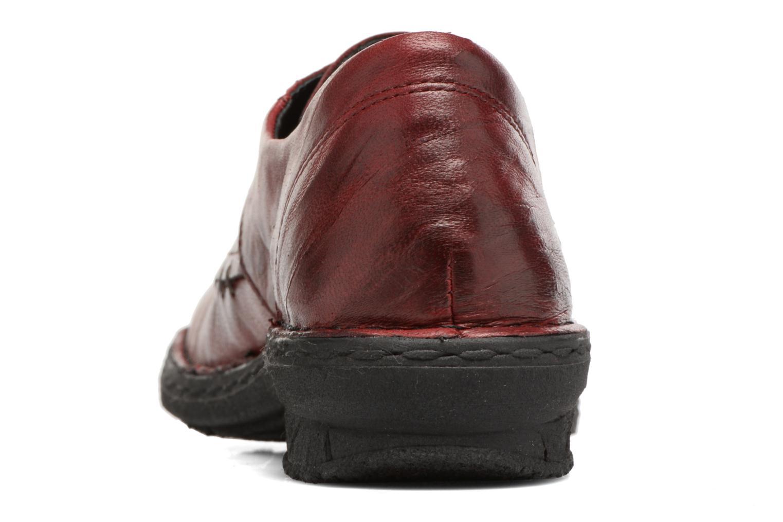 Chaussures à lacets Khrio Brancer Rouge vue droite