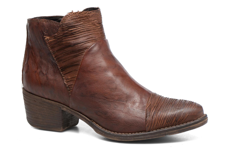 Bottines et boots Khrio Belal Marron vue détail/paire