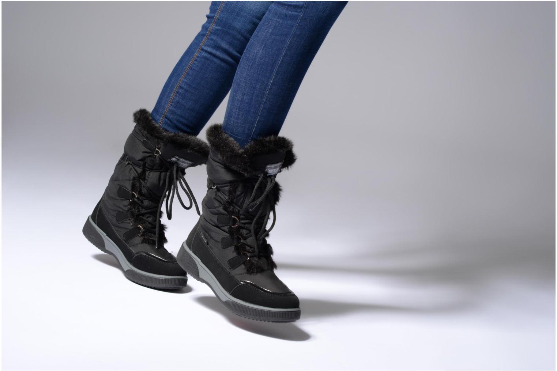 Chaussures de sport Kimberfeel Paloma Noir vue bas / vue portée sac