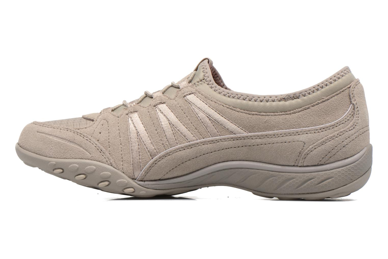 Trainers Skechers Breathe-Easy - Moneybags Grey front view
