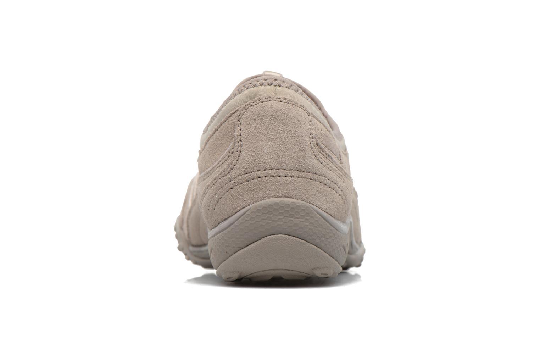 Baskets Skechers Breathe-Easy - Moneybags Gris vue droite
