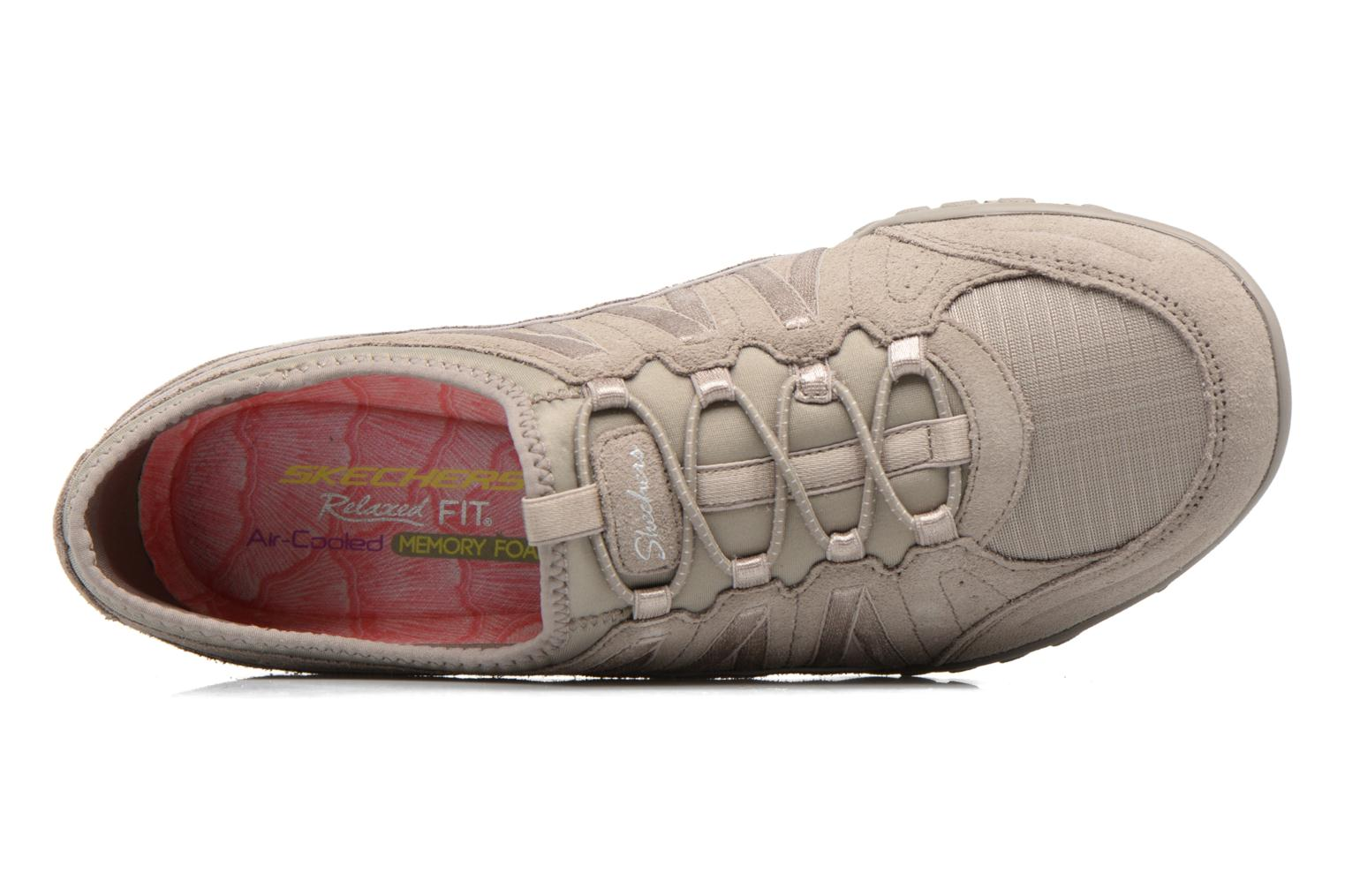 Trainers Skechers Breathe-Easy - Moneybags Grey view from the left
