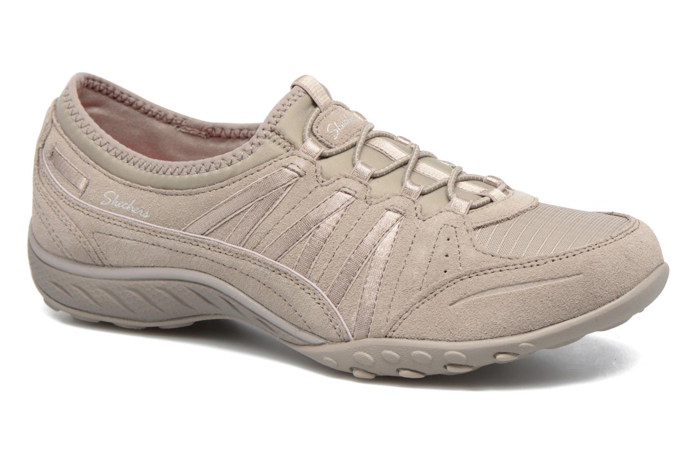 Baskets Skechers Breathe-Easy - Moneybags Gris vue détail/paire