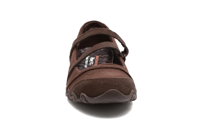 Ballerines Skechers Go step lite quaint Marron vue portées chaussures
