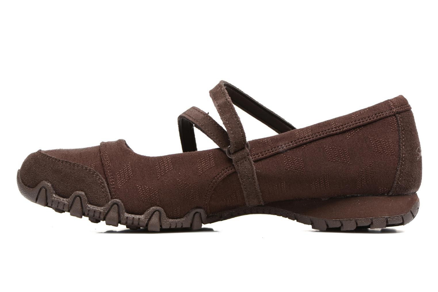 Ballerines Skechers Go step lite quaint Marron vue face