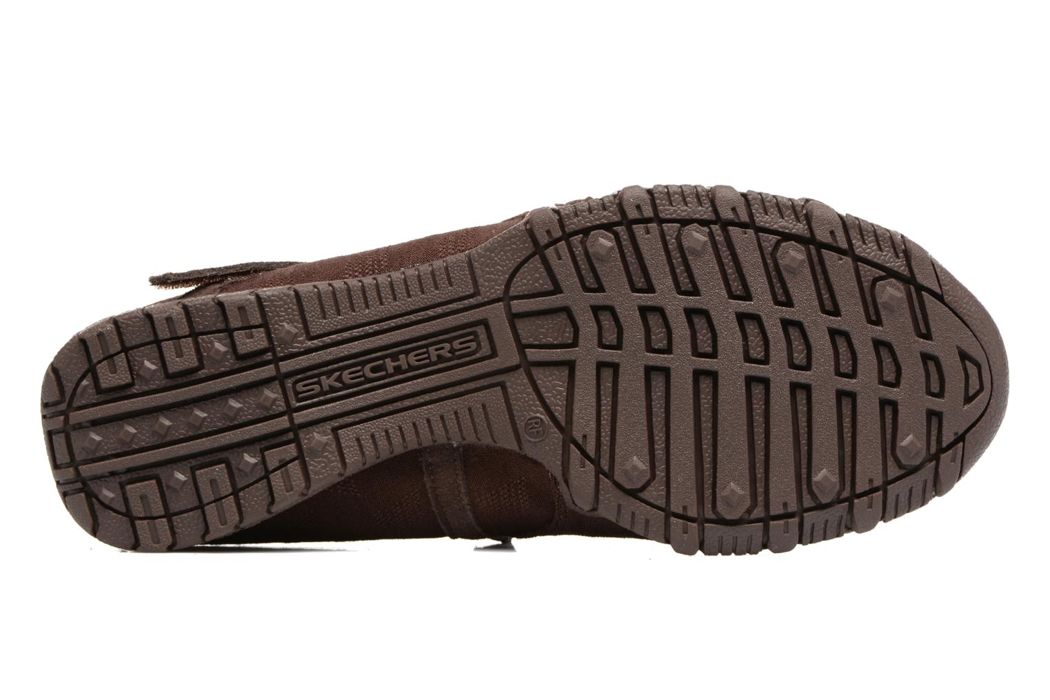 Ballerines Skechers Go step lite quaint Marron vue haut