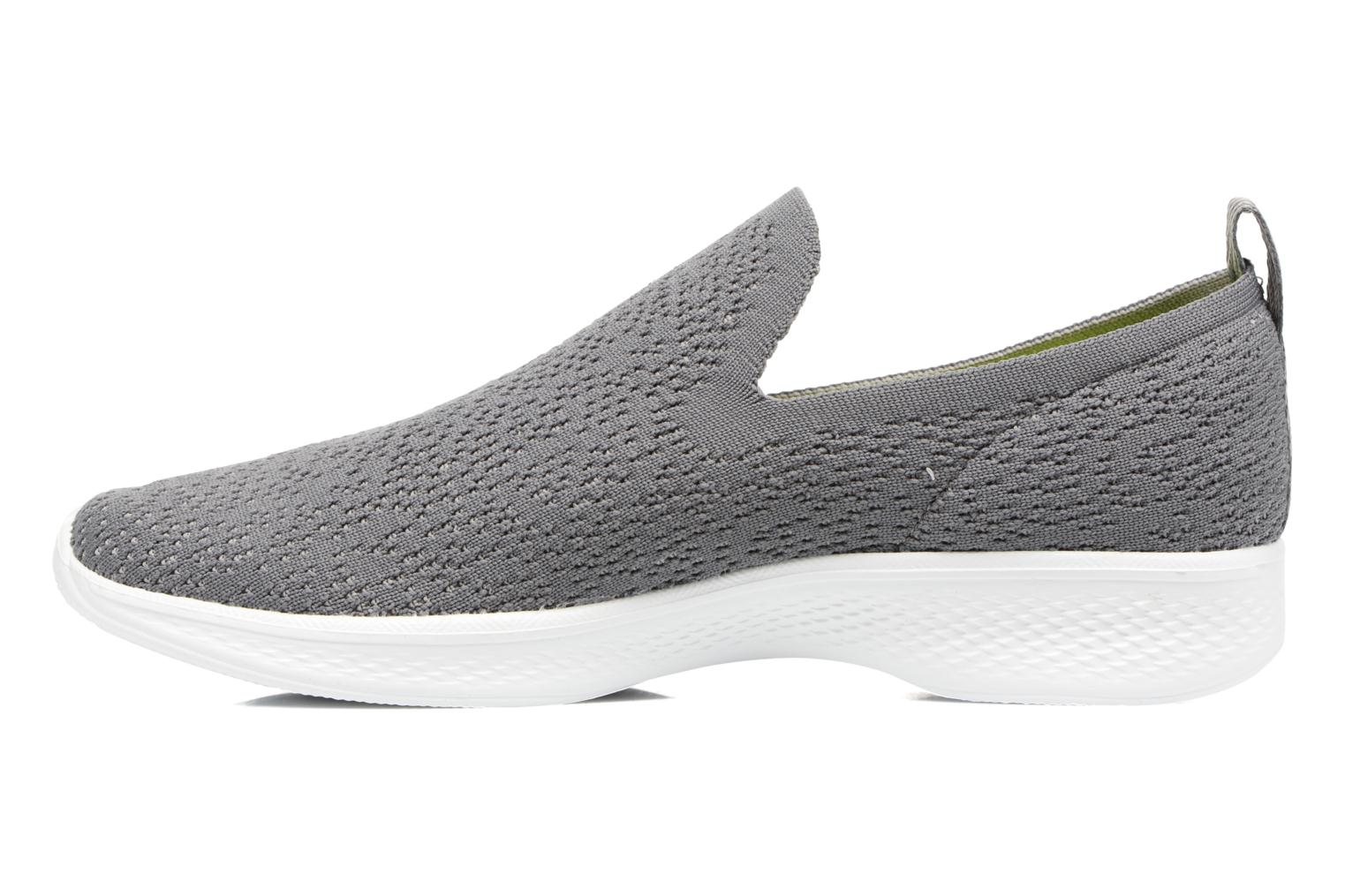 Sport shoes Skechers Go walk 4 gifted Grey front view