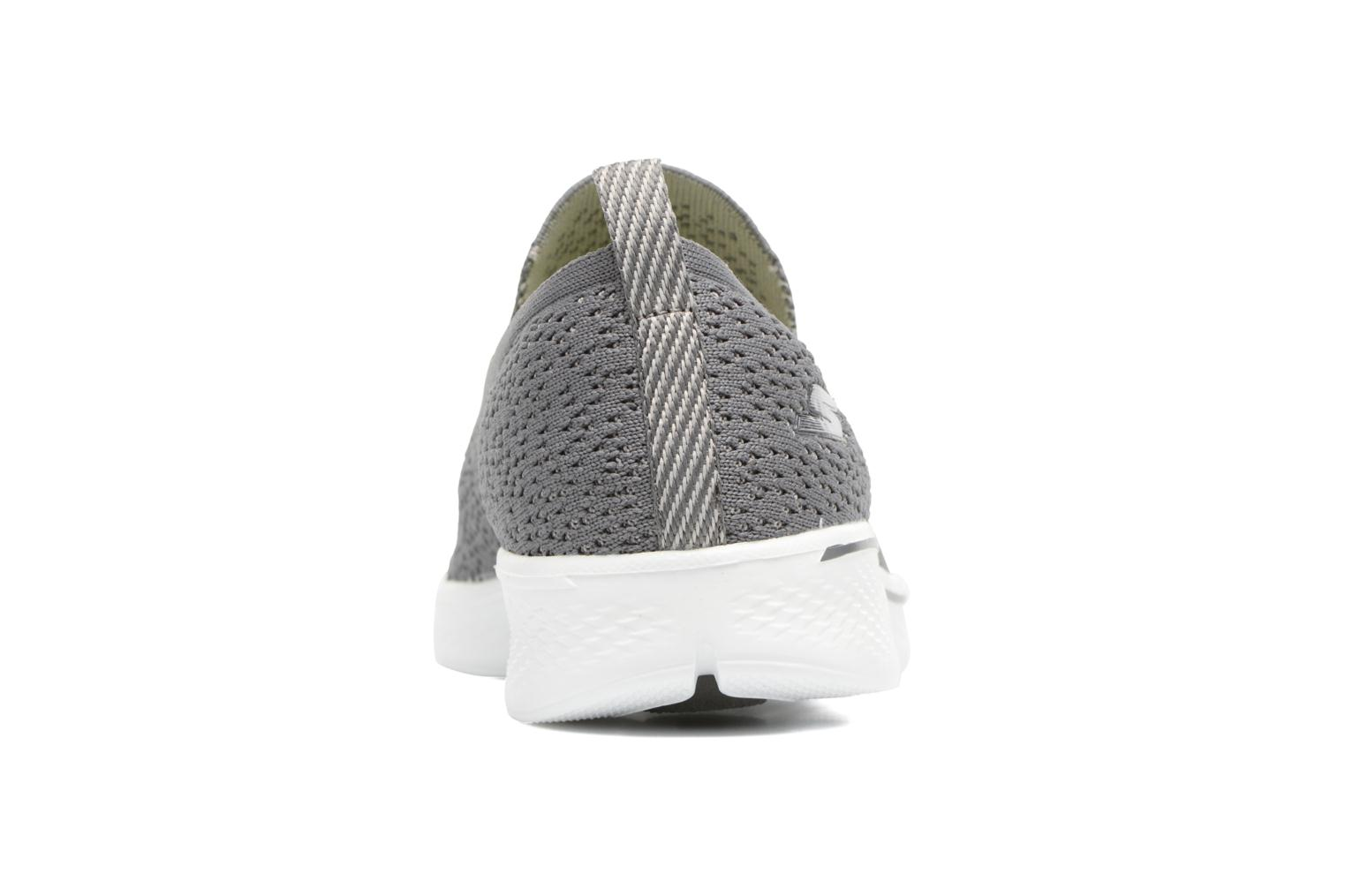 Sport shoes Skechers Go walk 4 gifted Grey view from the right