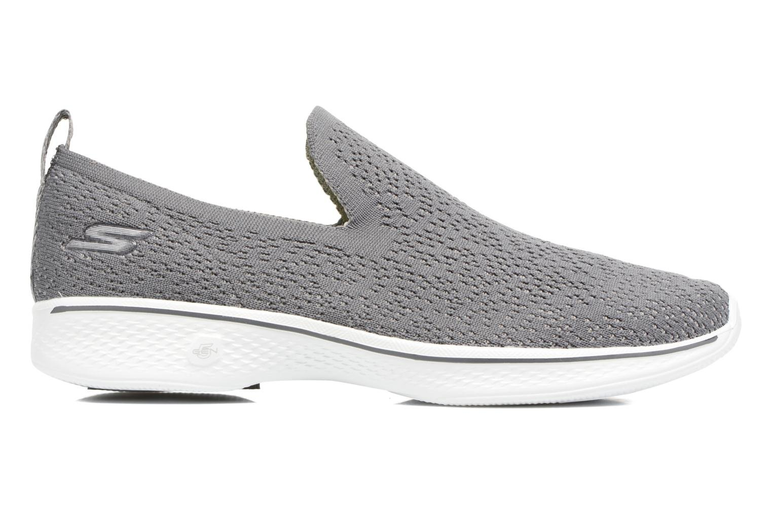 Sport shoes Skechers Go walk 4 gifted Grey back view