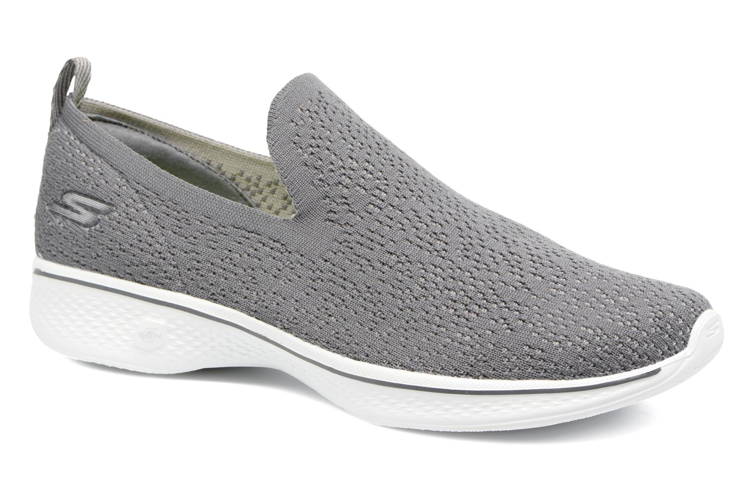 Sport shoes Skechers Go walk 4 gifted Grey detailed view/ Pair view