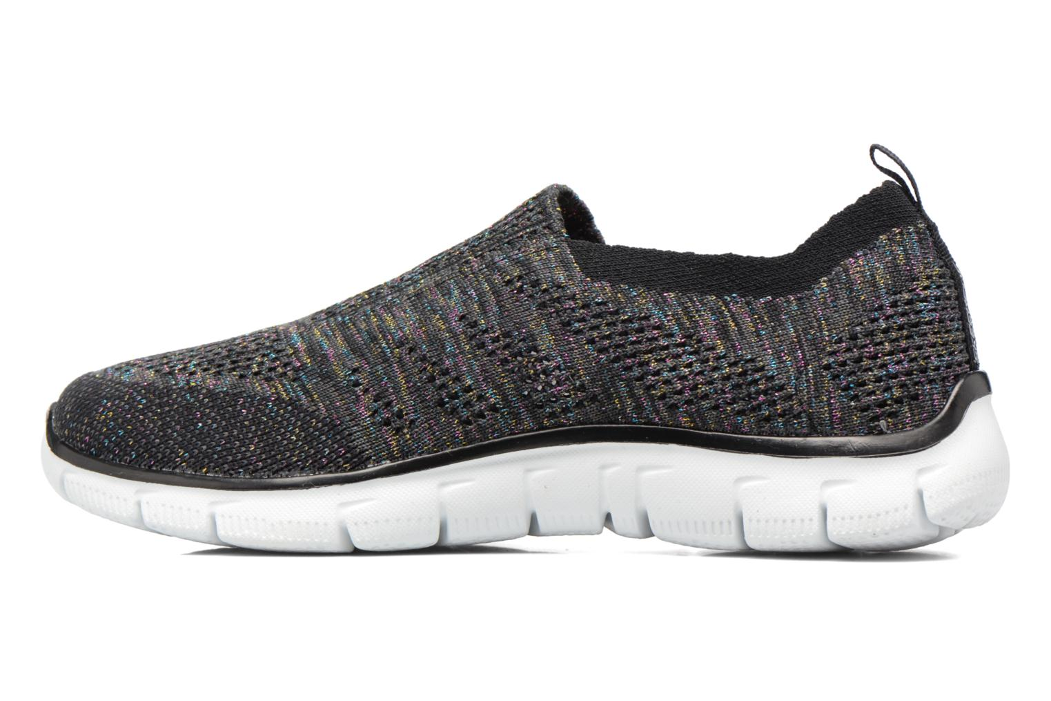Trainers Skechers Empire round up Black front view