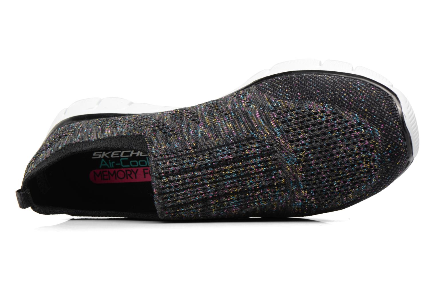 Sneakers Skechers Empire round up Nero immagine sinistra