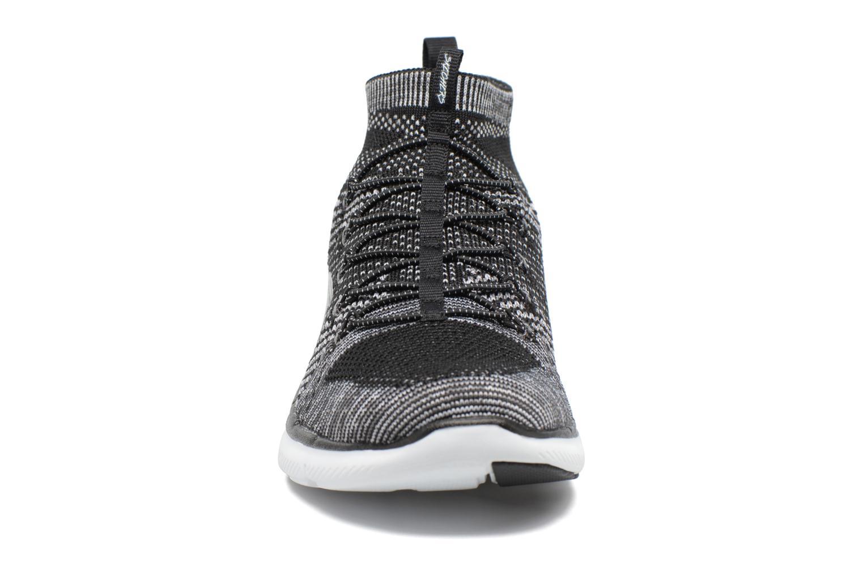 Sportschuhe Skechers Flex Appeal 2.0 Hourglass schwarz schuhe getragen