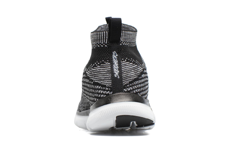 Zapatillas de deporte Skechers Flex Appeal 2.0 Hourglass Negro vista lateral derecha