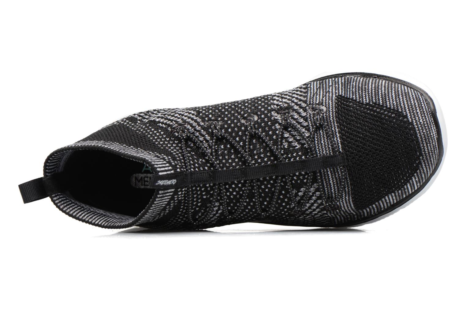 Sport shoes Skechers Flex Appeal 2.0 Hourglass Black view from the left
