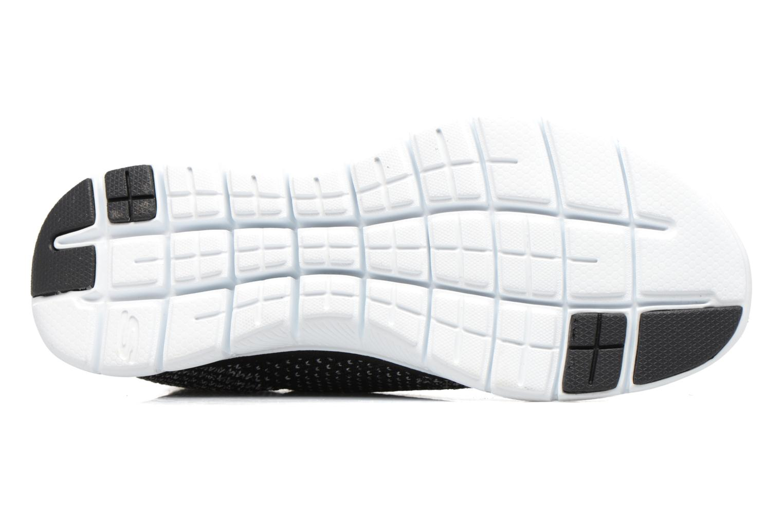 Zapatillas de deporte Skechers Flex Appeal 2.0 Hourglass Negro vista de arriba