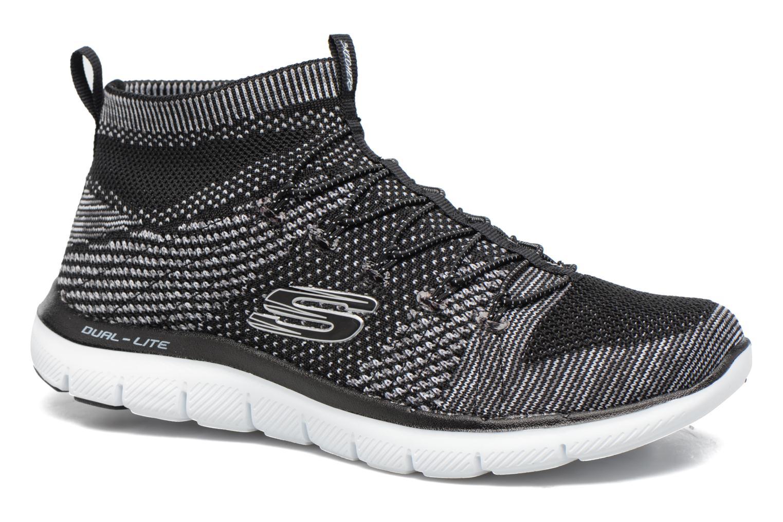 Skechers Flex Appeal 2.0 Hourglass (Noir) - Chaussures de sport chez Sarenza (305942)