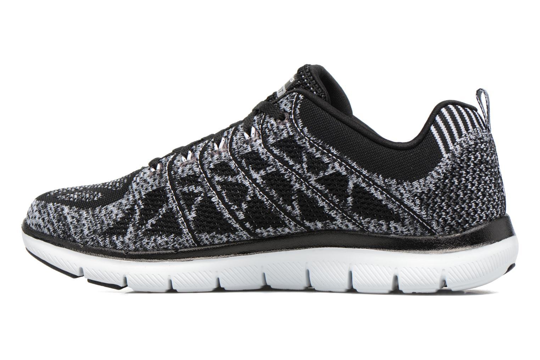 Chaussures de sport Skechers Flex Appeal 2.0 New Gem Noir vue face