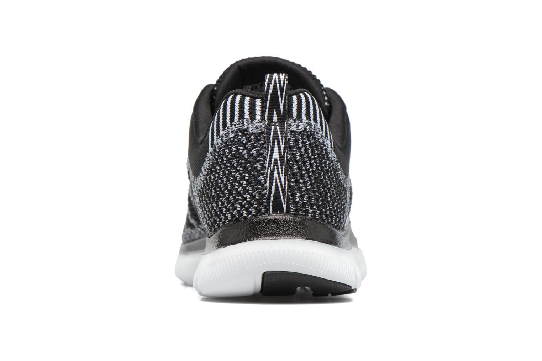 Zapatillas de deporte Skechers Flex Appeal 2.0 New Gem Negro vista lateral derecha
