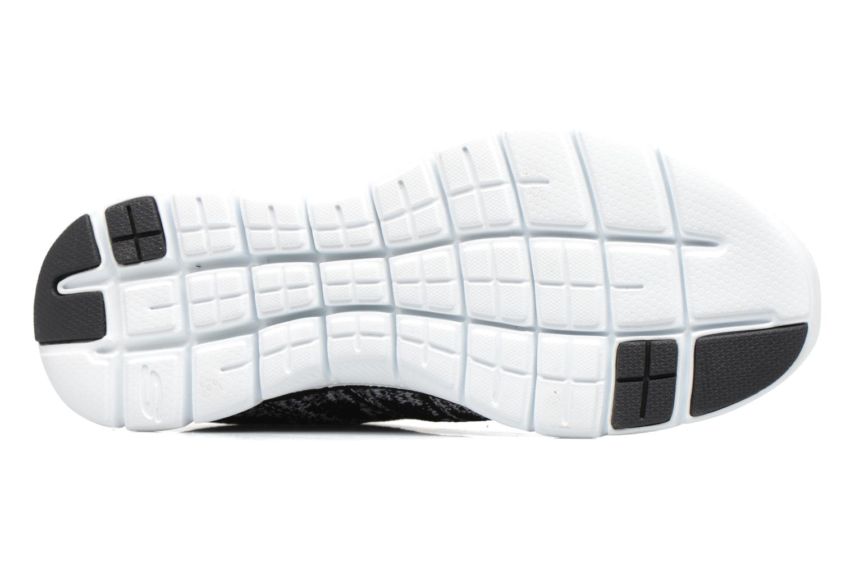 Scarpe sportive Skechers Flex Appeal 2.0 New Gem Nero immagine dall'alto