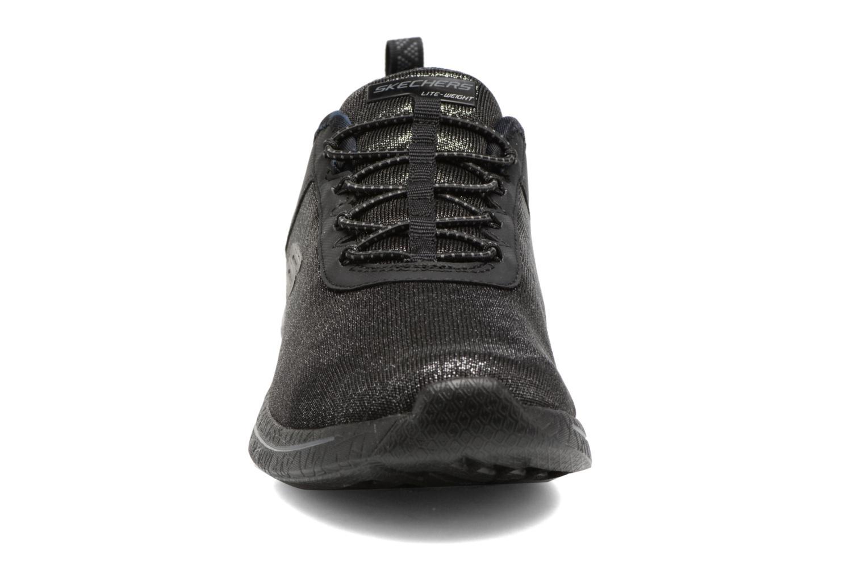 Chaussures de sport Skechers Burst 2.0 Sunny Side Noir vue portées chaussures