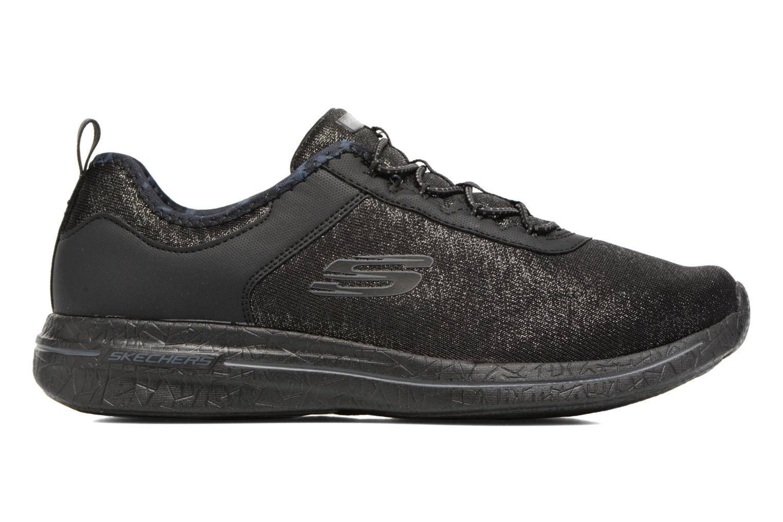 Chaussures de sport Skechers Burst 2.0 Sunny Side Noir vue derrière
