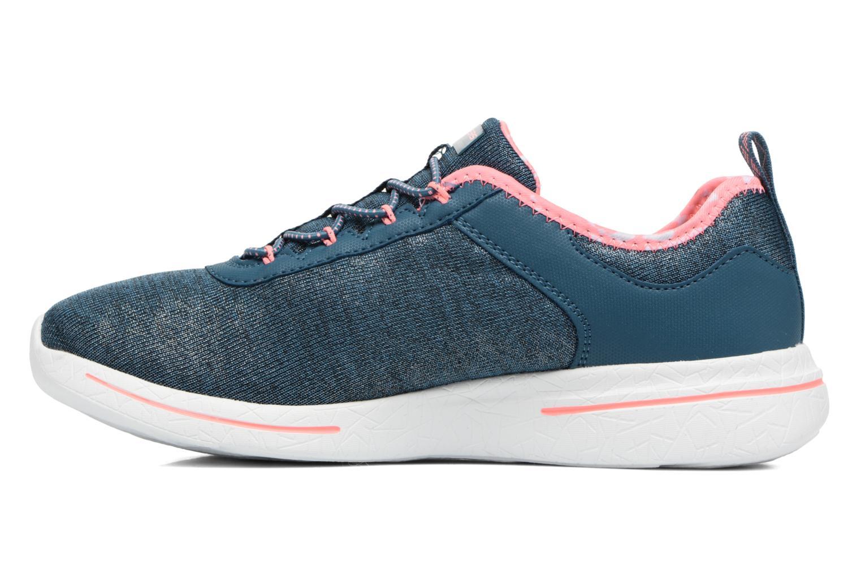Zapatillas de deporte Skechers Burst 2.0 Sunny Side Azul vista de frente