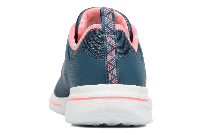 Zapatillas de deporte Skechers Burst 2.0 Sunny Side Azul vista lateral derecha