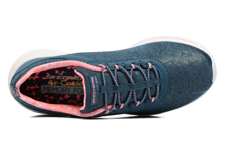 Zapatillas de deporte Skechers Burst 2.0 Sunny Side Azul vista lateral izquierda