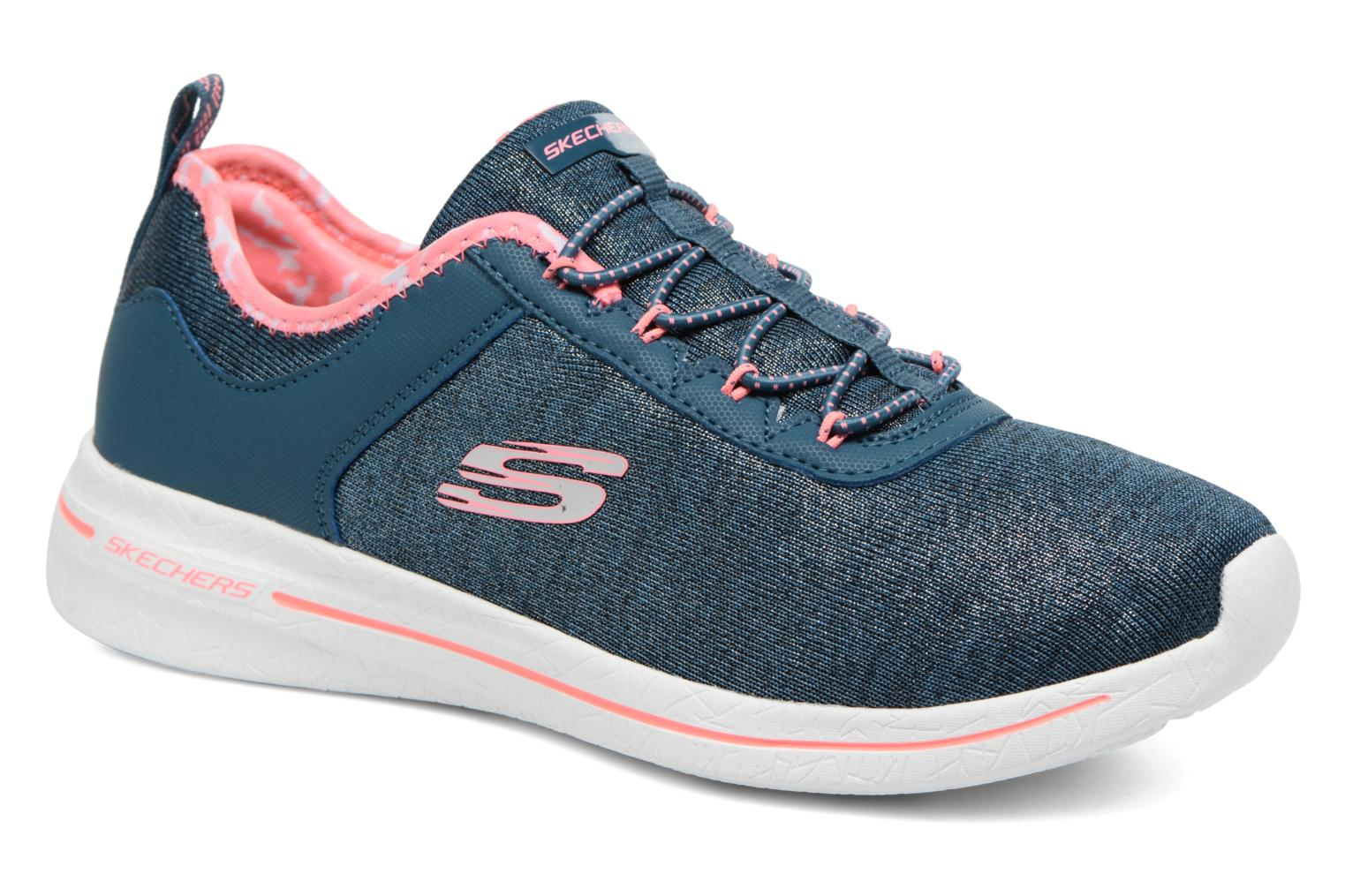 Sport shoes Skechers Burst 2.0 Sunny Side Blue detailed view/ Pair view