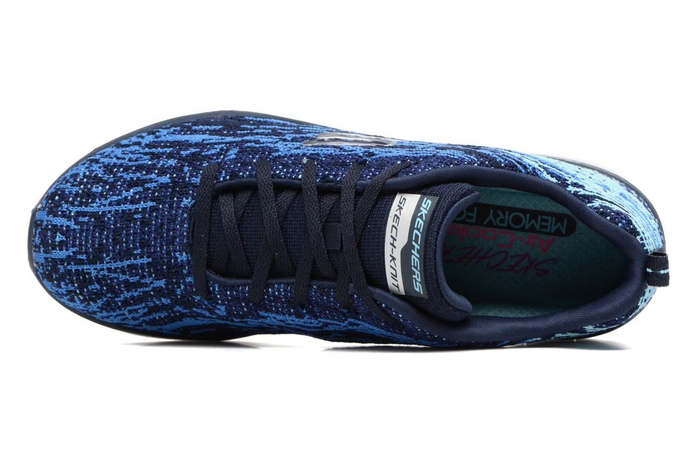 Chaussures de sport Skechers Synergy 2.0 High Spirits Bleu vue gauche