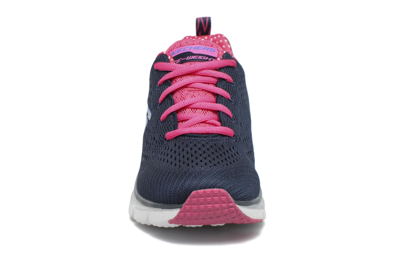 Zapatillas de deporte Skechers Fashion Fit Statement Piece Azul vista del modelo