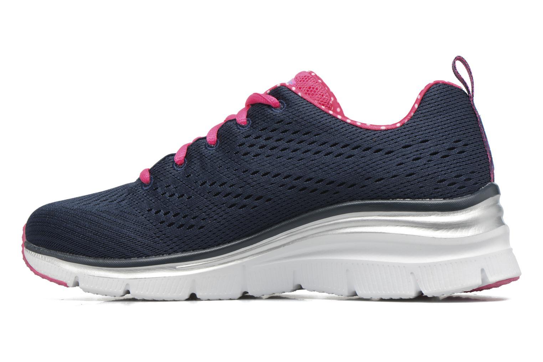 Zapatillas de deporte Skechers Fashion Fit Statement Piece Azul vista de frente