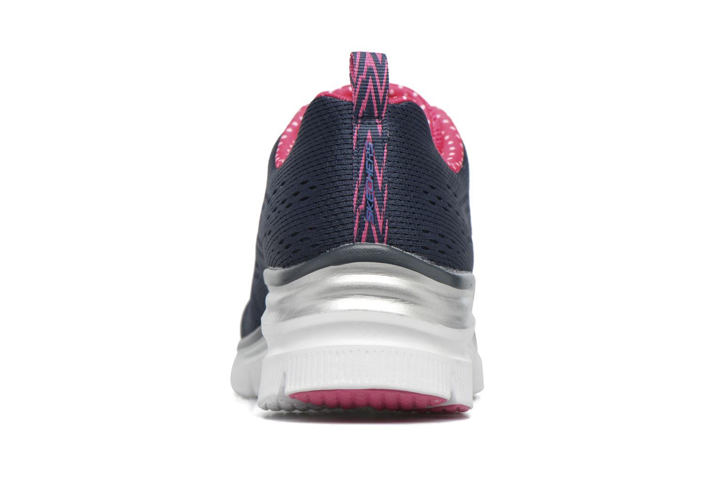 Zapatillas de deporte Skechers Fashion Fit Statement Piece Azul vista lateral derecha
