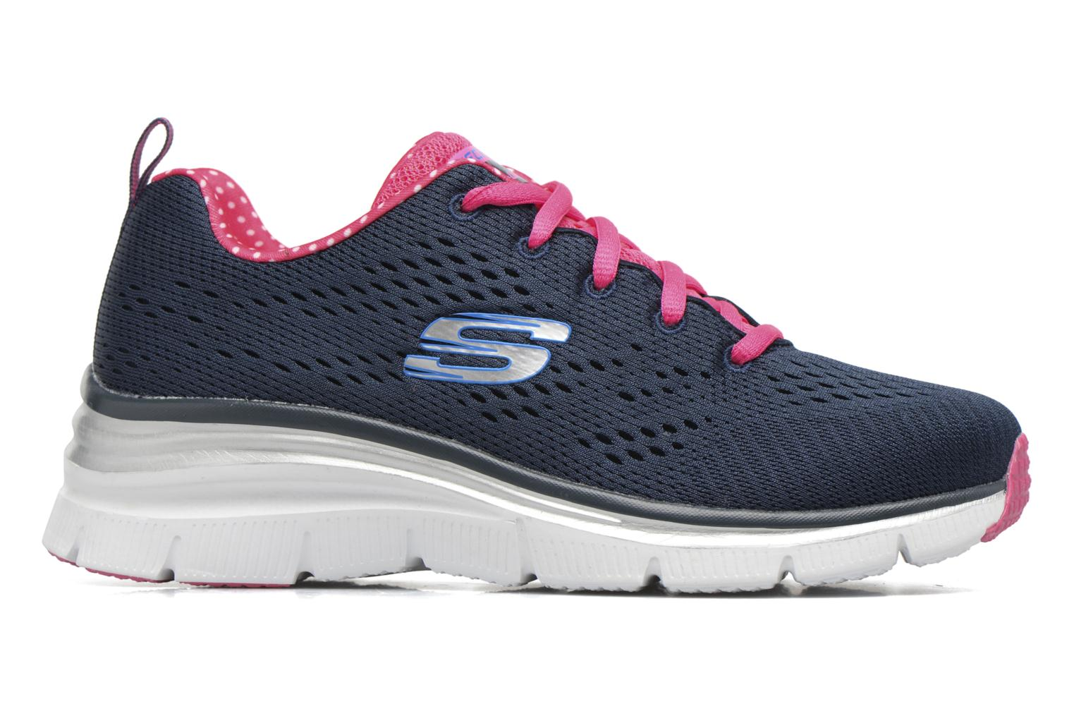 Zapatillas de deporte Skechers Fashion Fit Statement Piece Azul vistra trasera