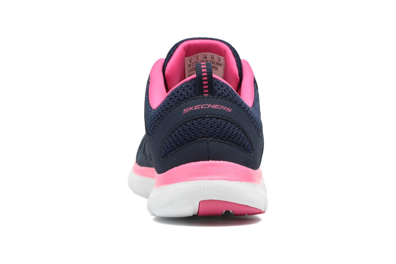 Sportschuhe Skechers Flex Appeal 2.0 Simplistic blau ansicht von rechts