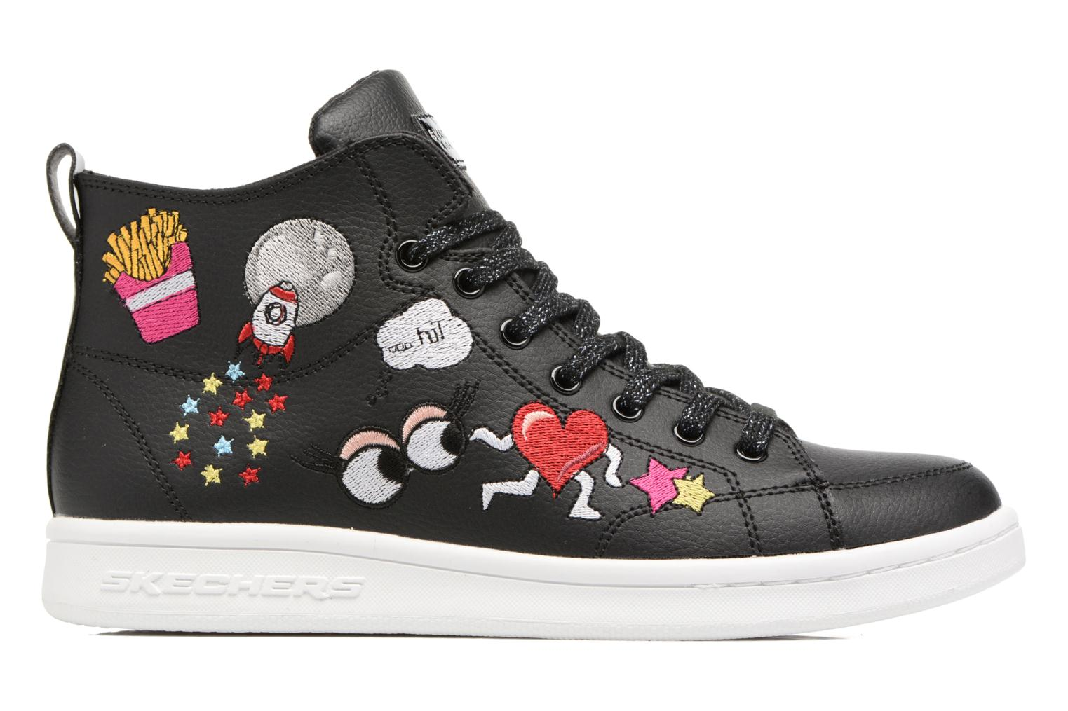 Trainers Skechers Omne So L.A. Black back view