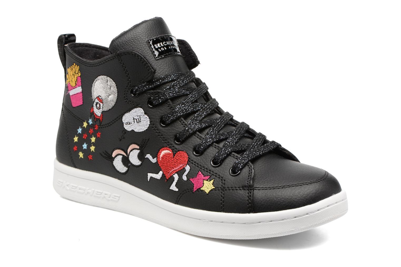 Sneakers Skechers Omne So L.A. Zwart detail