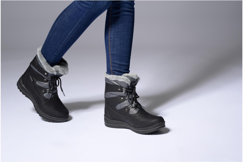 Sportschuhe Skechers Colorado Castle Rock schwarz ansicht von unten / tasche getragen
