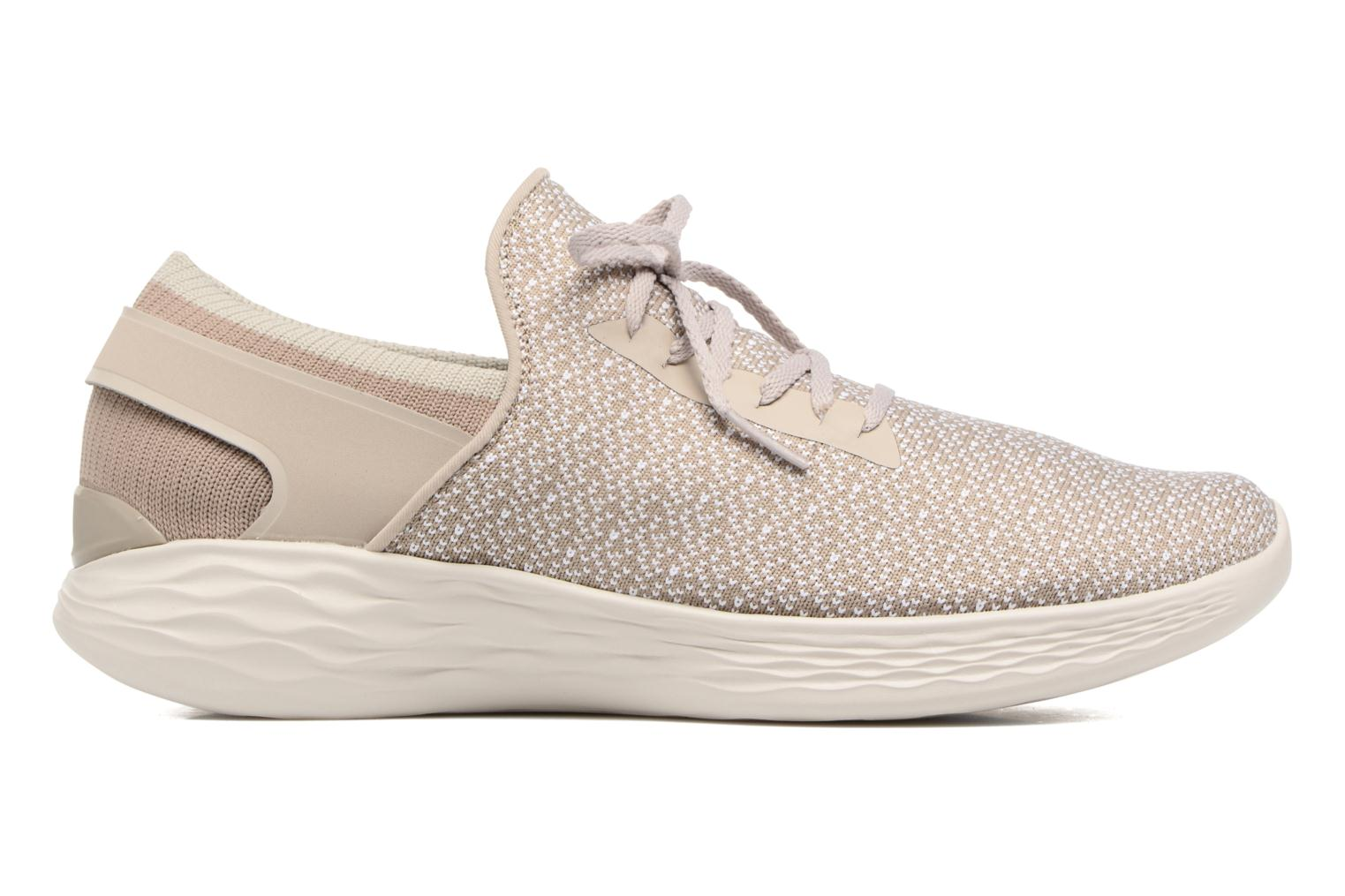 Sport shoes Skechers You Inspire Beige back view